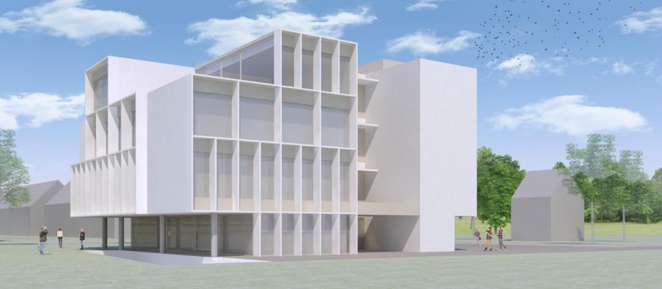 Benedenit Group nieuwbouw Herentals d&a architecten
