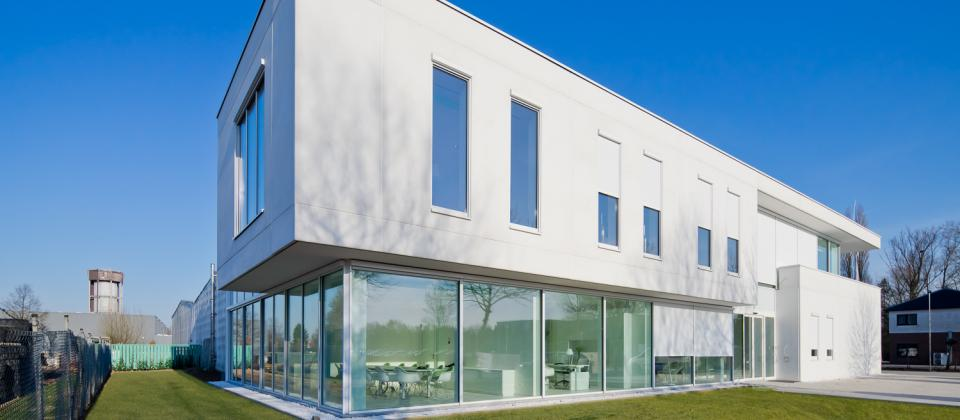 chocolade machines prefamac lummen uitbreiding gebouw nieuw bouwbedrijf mathieu gijbels limburg oudsbergen