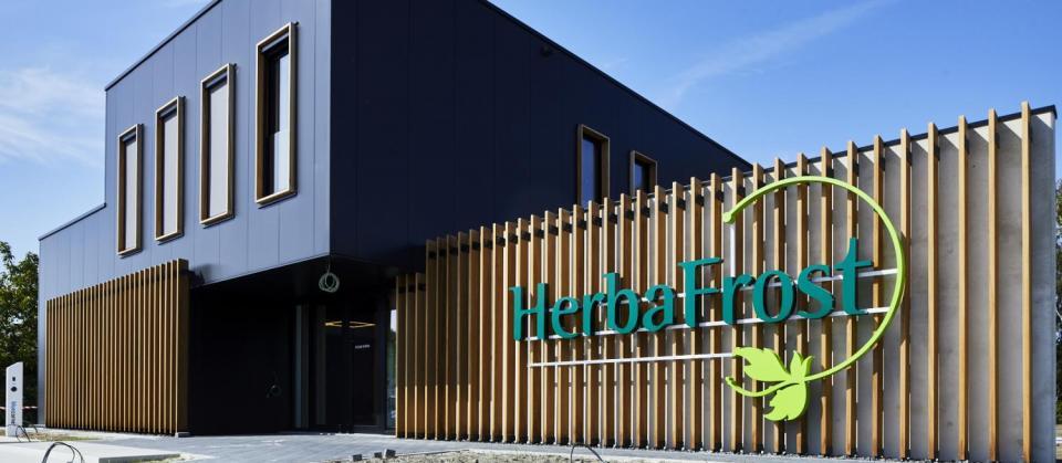 herbafrost hulshout kempen antwerpen diepgevroren kruiden nieuwbouw kantoor bouwbedrijf mathieu gijbels