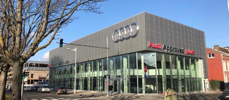 Zwitsere autoreus Emil Frey laat eerste grote garage in België door aannemersbedrijf Mathieu Gijbels