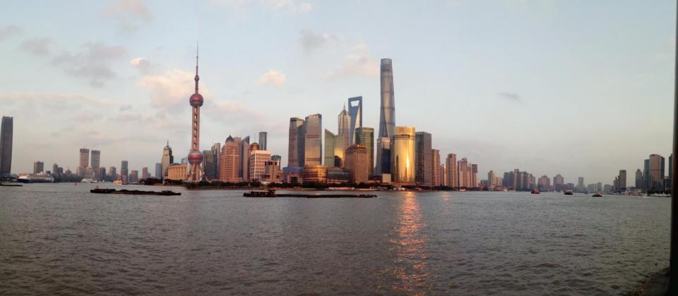 Nic Maes in Shanghai