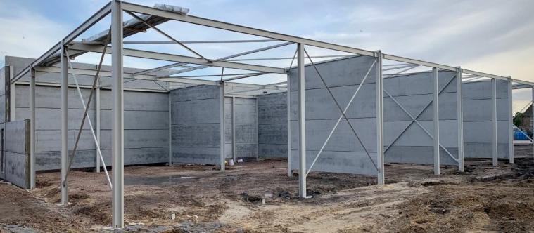 gasim IV bouwt loodsen met bouwbedrijf mathieu gijbels