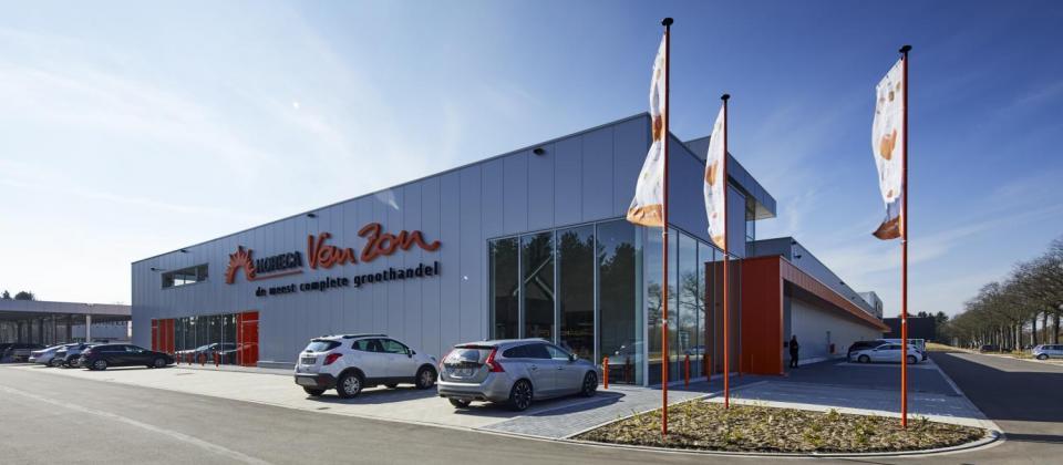 Horeca Van Zon Beerse, cash and carry, zelfbedieningsgroothandel, nieuwbouw, investering, Mathieu Gijbels, limburg