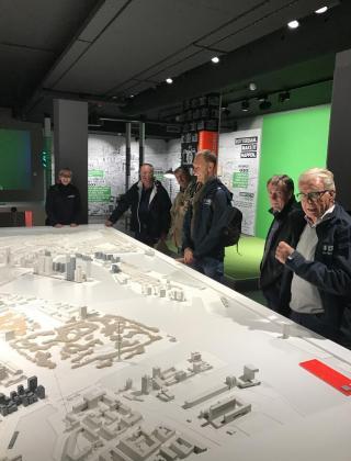 Rotterdam jubilarissen uitstap Mathieu Gijbels