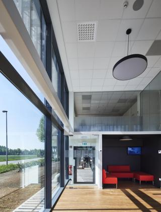 De uitbreidingswerken bij Pall Life Sciences in Hoegaarden werden door De Voordenkers van Mathieu Gijbels verzorgd.