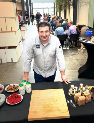 peppe giacomazza limburgse chef kok en mathieu gijbels zamelen geld in voor een hart voor limburg