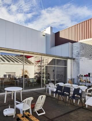 SPIT Heverlee Kringloopwinkel gebouwd door Mathieu Gijbels