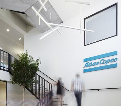 Mathieu Gijbels opening kantoor Atlas Copco Boom