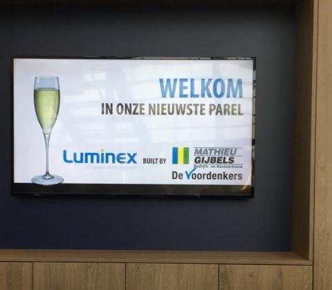 Mathieu Gijbels welkom in onze nieuwste parel Luminex