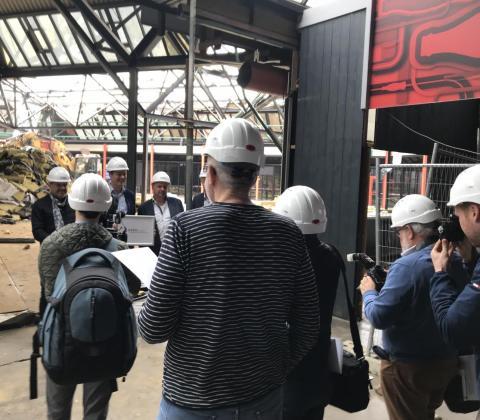 Mathieu Gijbels verbouwt Grenslandhallen site Hasselt