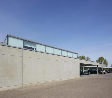 Kim Clijsters Sports & Health Club renovatie door aannemer Mathieu Gijbels