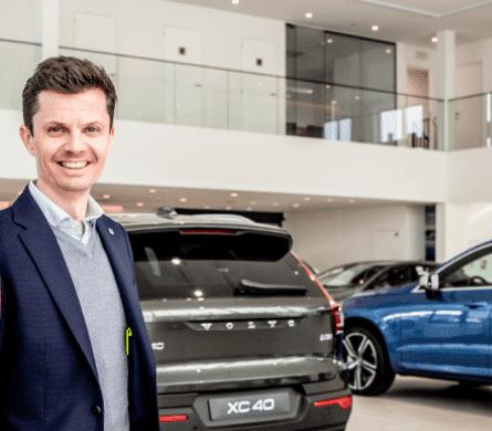 Steven De Keulenaer zaakvoerder Volvo De Keulenaer