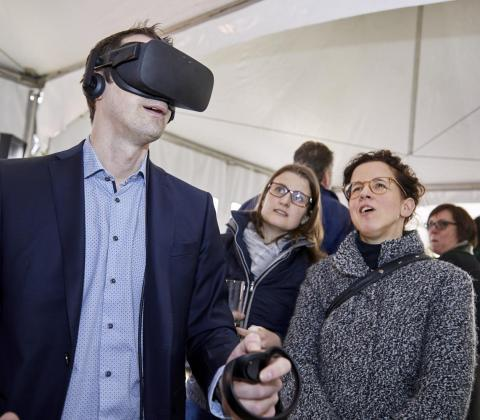 Mathieu Gijbels Vlecad virtual reality innovatie