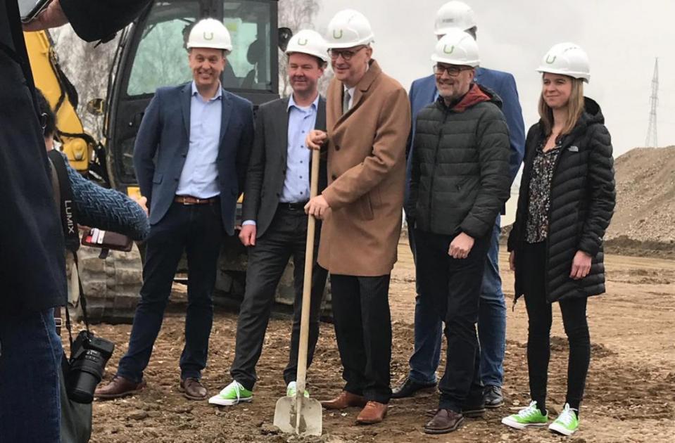Werken gestart op nieuw bedrijvenpark Het Looi te Tessenderlo!