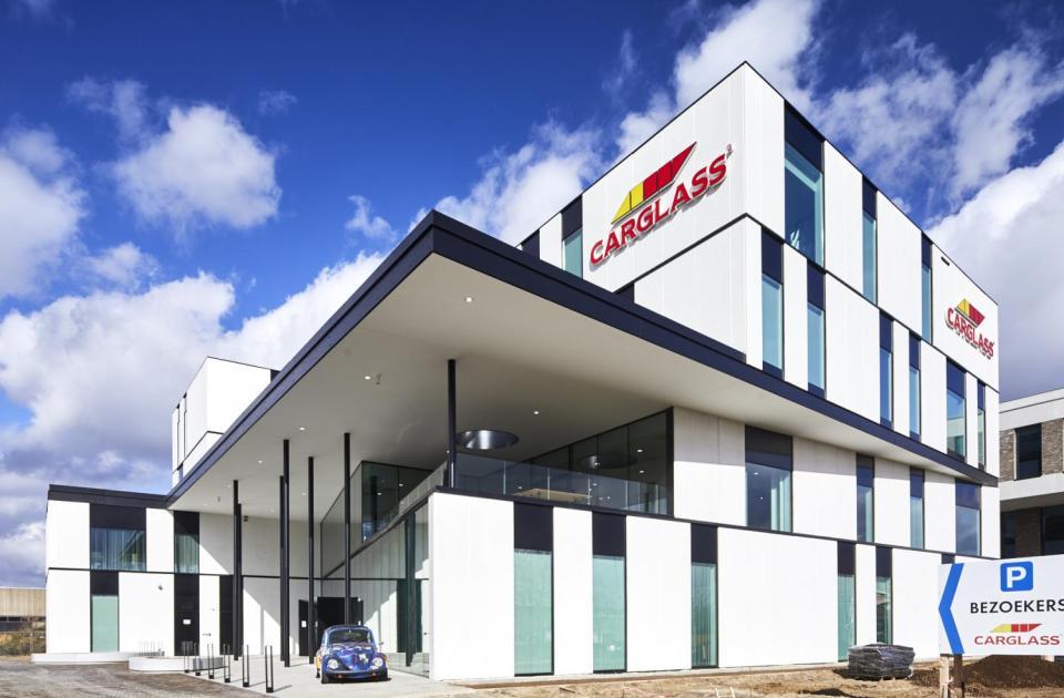 Bedrijvenpark Heros Carglass Hoofdkantoor Hasselt Mathieu Gijbels Nieuwbouw