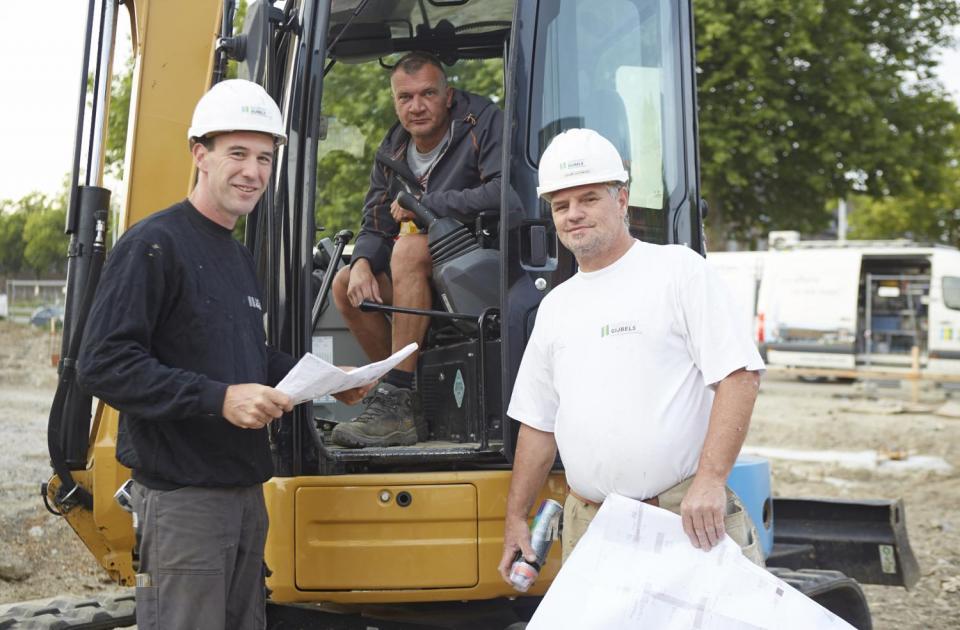 MAN Kobbegem, renovatie, bouwbedrijf logistiek, Mathieu Gijbels