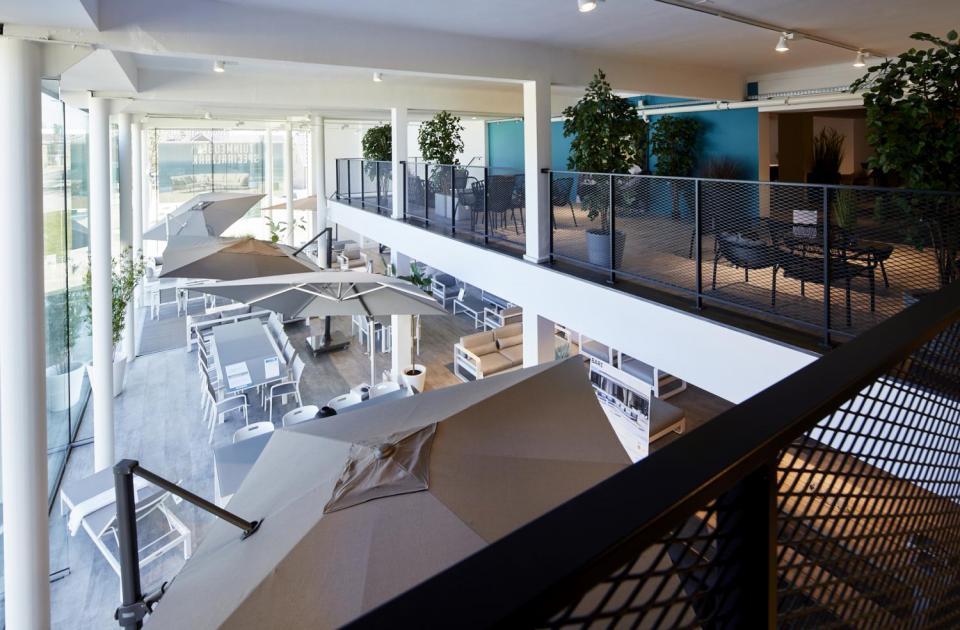 Mathieu Gijbels vernieuwde showroom Interieurs Eycken