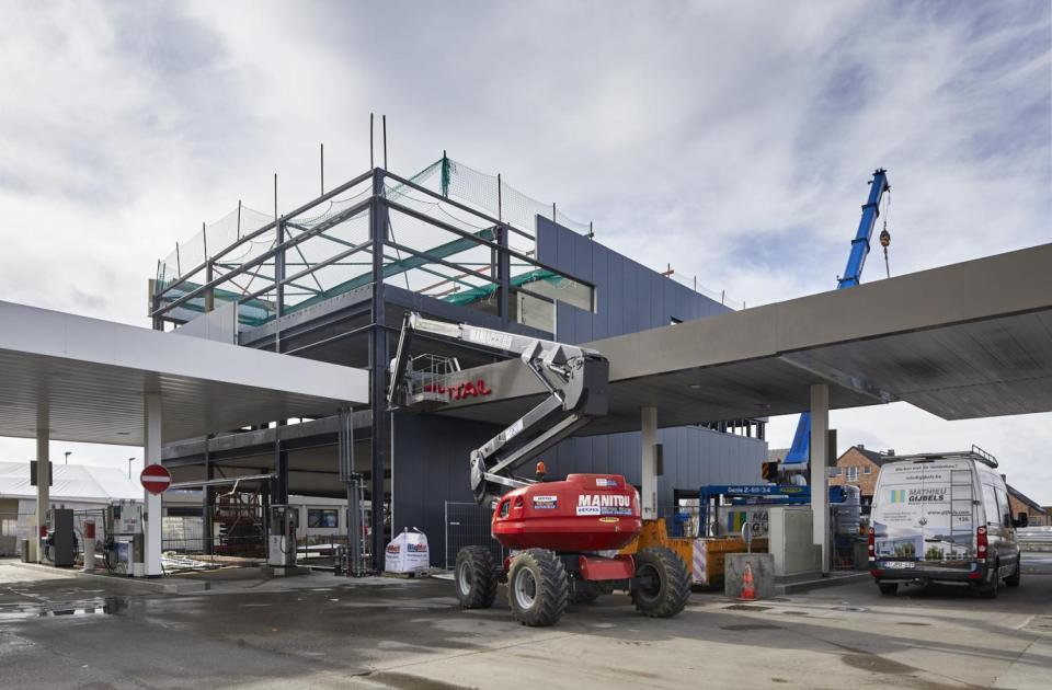 easy energy hognoul renovatie uitbreiding mathieu gijbels bouwbedrijf bouw werf