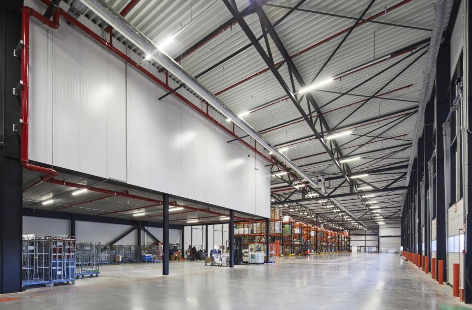 Horecagroothandel Van Zon, Lommel, distributiecentrum, nieuwbouw, mathieu gijbels, bouwen