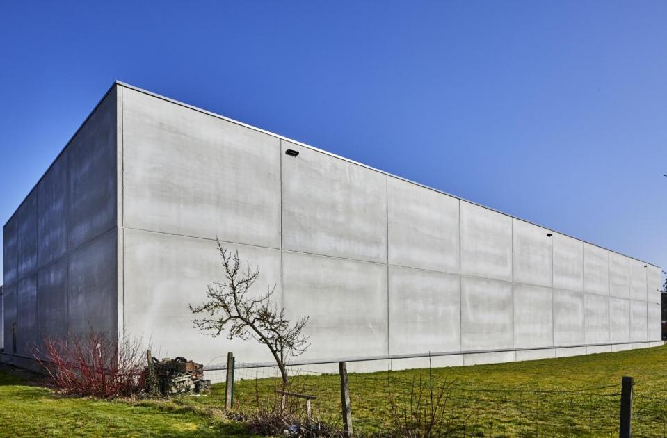 Koru Company, Loodsen, nieuwbouw, betonbouw, Melsbroek, Mathieu Gijbels, bouwbedrijf limburg