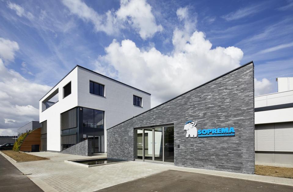 Soprema, trainingscentrum Grobbendonk, kempen, erkende waterdichtings- en isolatieopleidingen, renovatie