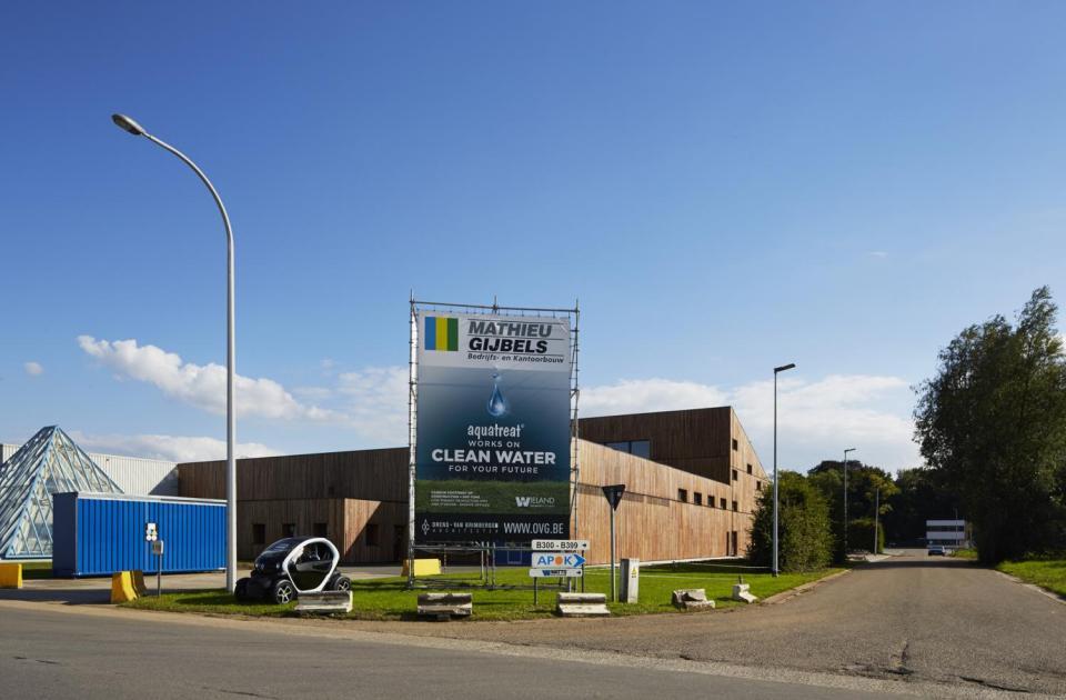 Aquatreat aarschot energiezuinig bouwen wonen bouwbedrijf mathieu gijbels limburg werf reclame publiciteit