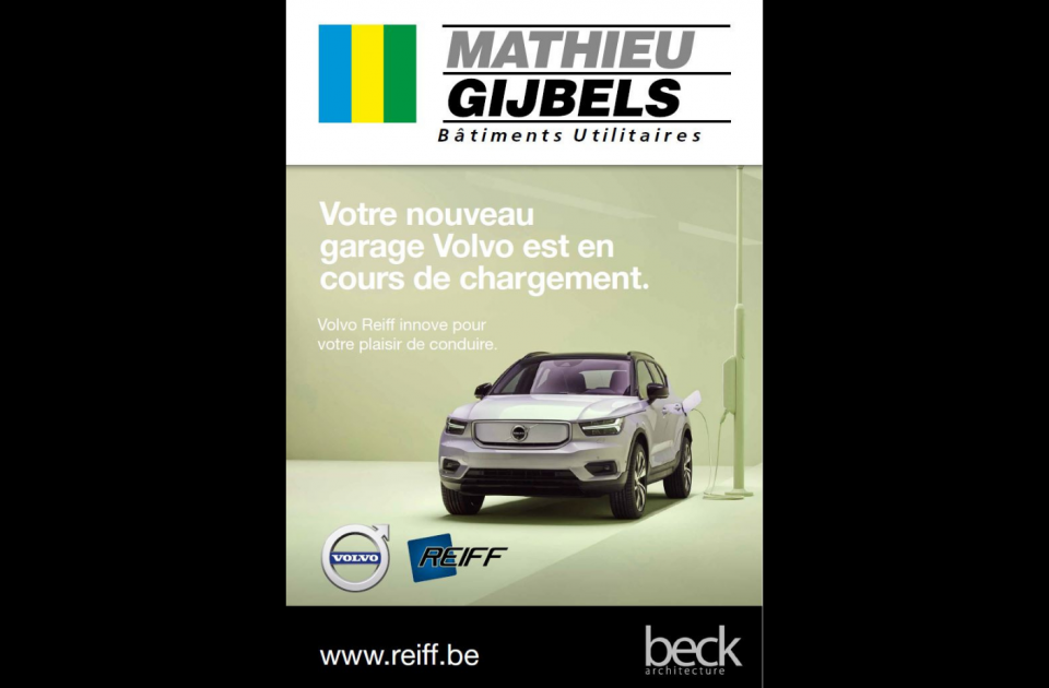 Volvo Reiff, Chaineux, Garagebouw, nieuwbouw, verviers, welkenraedt, Mathieu Gijbels,