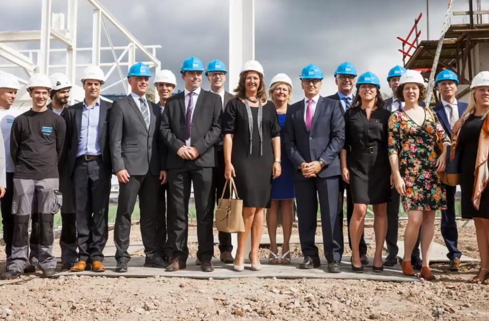 atlas copco rental kolom nieuwbouw hoofdkantoor belgië mathieu gijbels boom