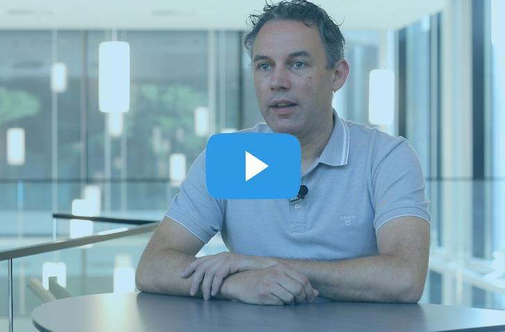 Bert Vanderhallen  van Limtec+ vertelt over de goede service en onderhoud dienst van Mathieu Gijbels