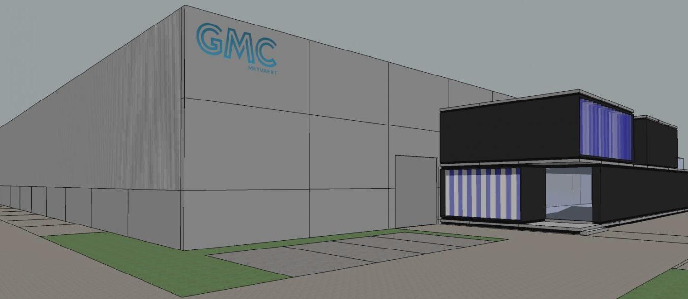 Meyvaert Glas start bouwwerken nieuwe loods en kantoren Mathieu Gijbels