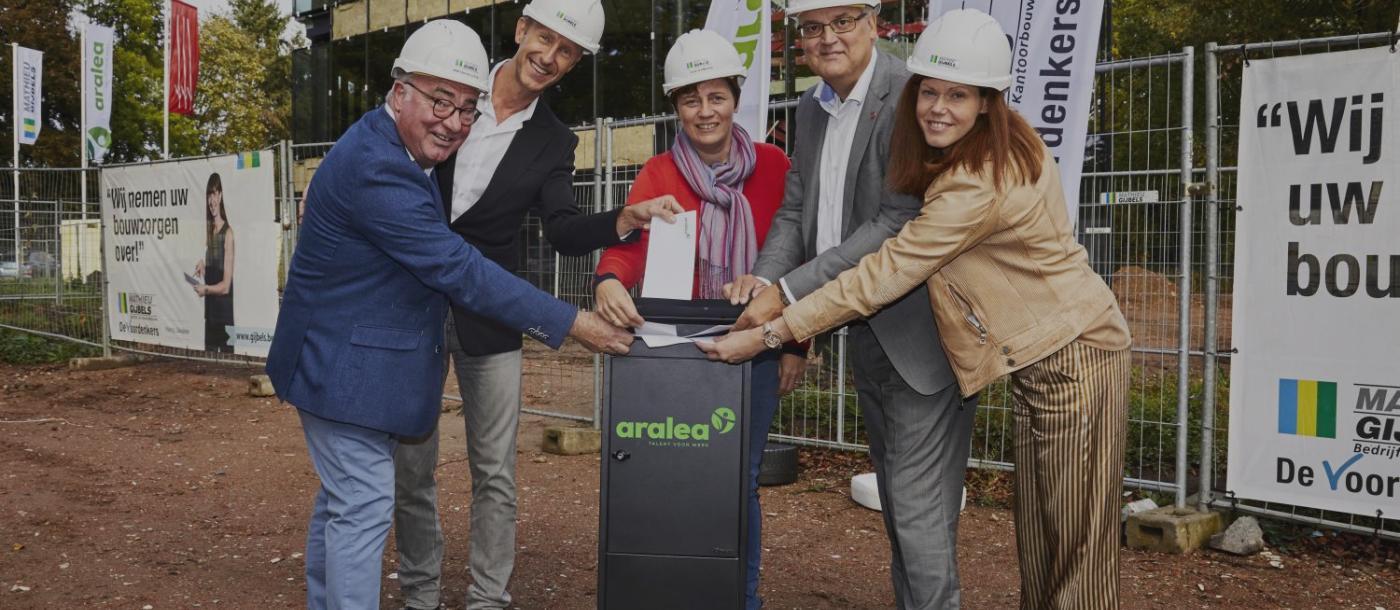Aralea Brasschaat Antwerpen nieuwbouw Mathieu Gijbels aannemer Oudsbergen Limburg