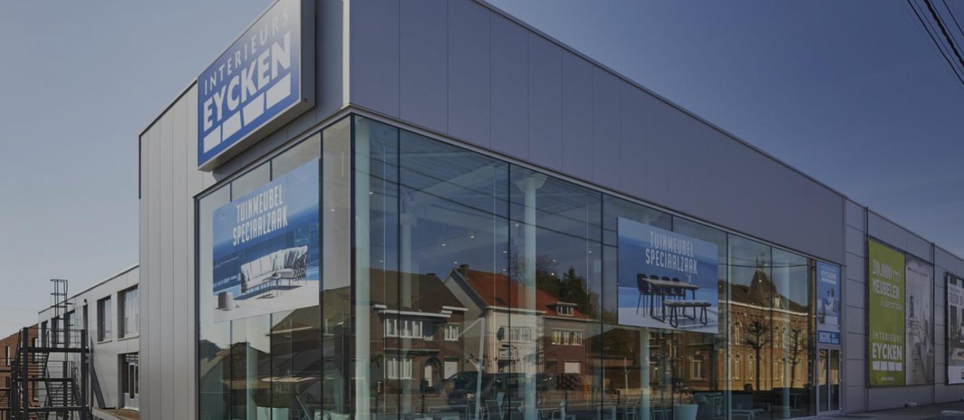 Ook in 2017 nemen De Voordenkers de huidige vestiging van Interieurs Eycken opnieuw onder handen.