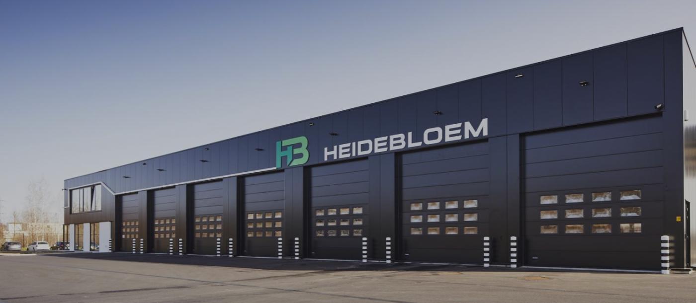 Heidebloem, Lanaken, autobussen, autocars, autocarbedrijf, vervoersmaatschappij, Mathieu Gijbels, Nieuwbouw