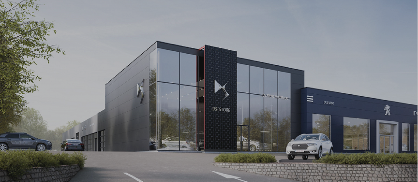Peugeot garage Ollivier in Waterloo breidt uit en wordt DS en Citroën dealer