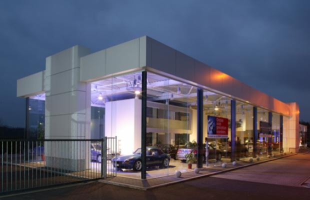 BMW garage Beliën Neerpelt Mathieu Gijbels Rénovation