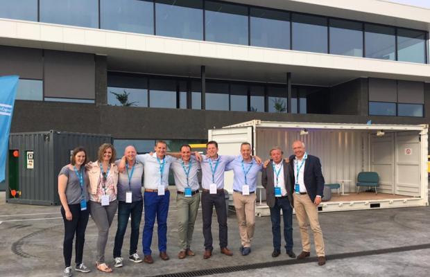 De Voordenkers aanwezig tijdens opening nieuw gebouw Atlas Copco Boom