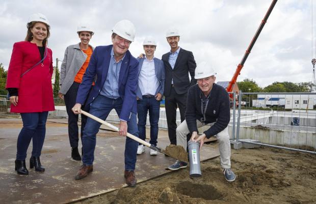 Startschot nieuwbouw Benedenti Groep Herentals