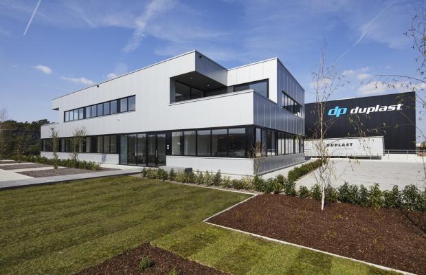 Nieuw gebouw van Duplast in Bilzen is klaar