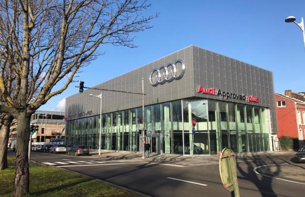 Un géant suisse de l'automobile construit son premier grand garage en Belgique