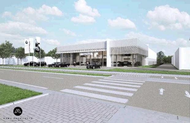 Nieuwbouw BMW Van Osch in Zonhoven