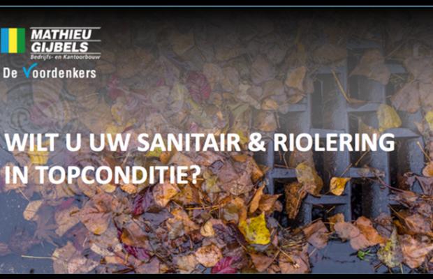 Service en Onderhoud lanceert een nieuwe dienst om de sanitair en riolering van elk bedrijfsgebouw in topconditie te brengen en te houden.