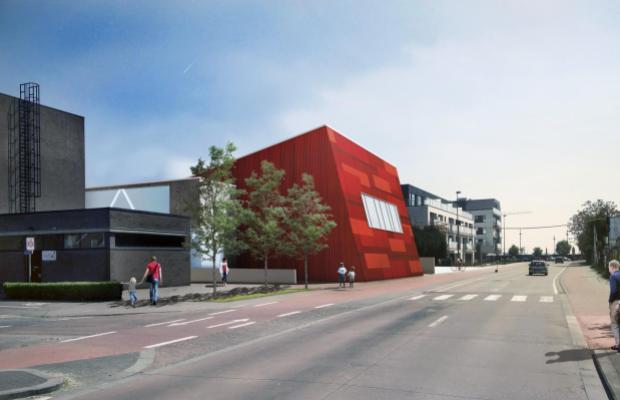 Voor de Emmaüsschool in Aalter bouwen we een nieuwe refter en sportzaal en zorgen we voor een nieuwe speelplaats.
