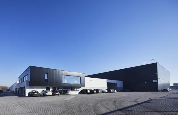 Donckers packaging Lier gebouwd door aannemerbedrijf Mathieu Gijbels