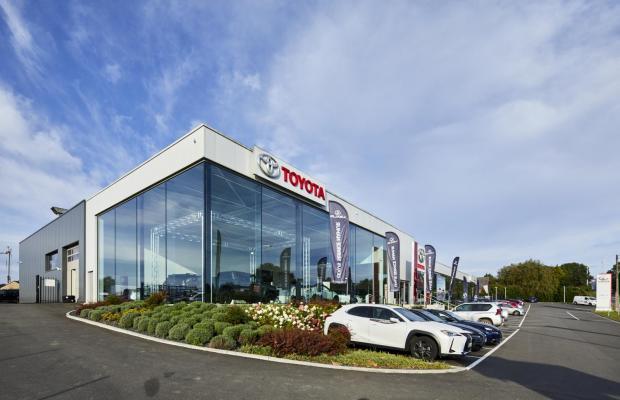 Gégo Toyota, Namen, Naninne, garagebouw, garage, Mathieu gijbels, de voordenkers