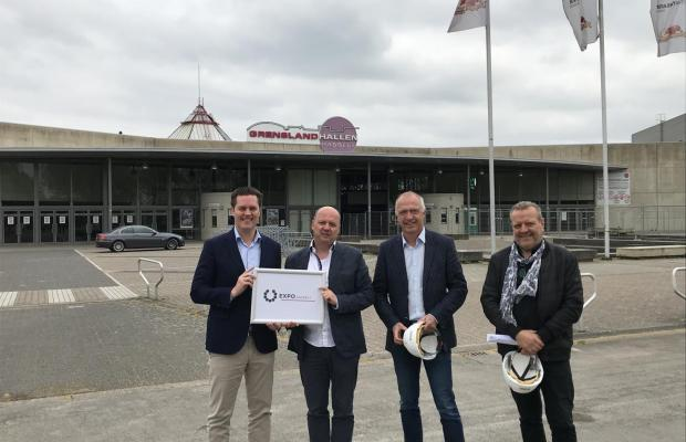 Startschot bouwwerken Grenslandhallen site in Hasselt