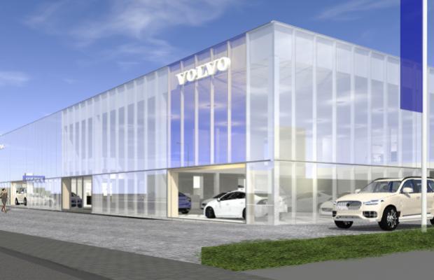 """""""Volvo De Keulenaer breidt uit voor uw rijplezier"""". Met deze slogan werden de werkzaamheden bij het familiebedrijf in Beveren aangekondigd."""