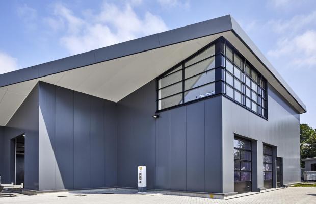 garage en carwash reidanus nieuwbouw gent door limburg bouwbedrijf mathieu gijbels