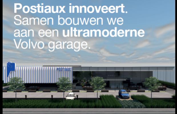 postiaux is dé Volvo-specialist in regio Antwerpen