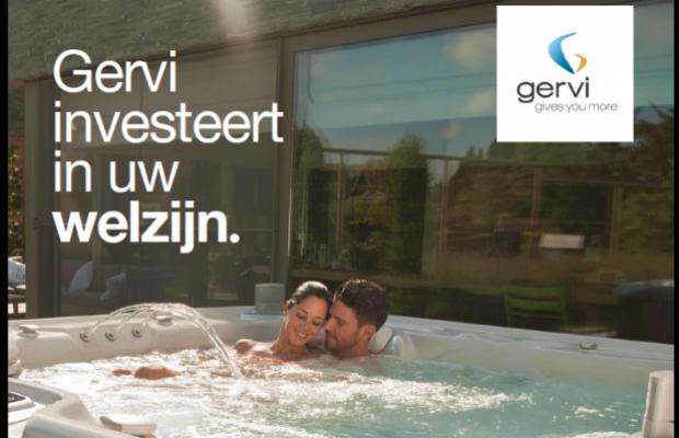 oor Wellness specialist Gervi in Maasmechelen bouwen De Voordenkers een opslagloods met winkelruimtes bij aan het bestaande gebouw.