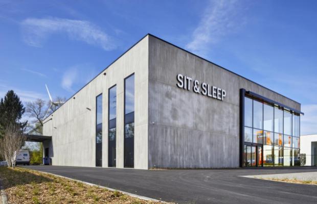 Sit & Sleep, Hasselt, Genkersteenweg, winkelpand, Mathieu Gijbels, Oudsbergen, nieuwbouw